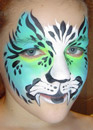 Blue Green Tiger